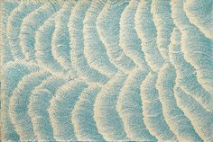 "Tali - Sand Dune Country ~ artist Maureen Hudson Nampijinpa; acrylic on linen, 35.4"" x 23.6"" #art #painting #contemporary #aboriginal_dot"