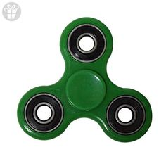FOONEA Tri-Spinner Fidget Toy Hand Spinner (Deep Green) - Fidget spinner (*Amazon Partner-Link)