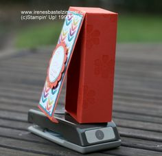 Stampin' Up!-Geschenkverpackung-Anleitung-Stanzer-Sale-A-Bration  Tutorial box