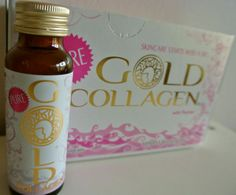 So Many Lovely Things Gold G, Hot Sauce Bottles, Collagen, Healthy Eats, Shots, Skin Care, Pure Products, Healthy Food, Collages