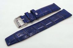 Vostok Europe Gaz-Limo Leather Strap 22mm Blue-Gaz.22.L.S.Bu