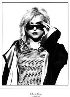 Debbie Harry was never exactly what you might call shy. Blondie Debbie Harry, Women Of Rock, Female Singers, Blondies, Lady, Rock And Roll, Style Icons, Beautiful People, Celebs