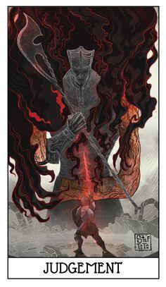 Картинки по запросу dark souls tarot cards