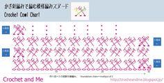 かぎ針編みスヌードの編み図