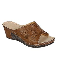 Loving this Refresh Brown Walnut Slide Sandal on  zulily!  zulilyfinds  Sandali 2018 db442a6b1d1