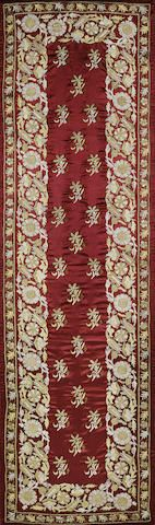An Ottoman silk and metal thread panel Turkey, early 19th Century