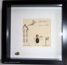 New Home pebble art