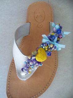 Elli's Shoes & Sandals: white romance