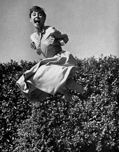 Audrey Hepburn - great laugh!