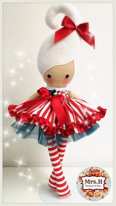 """23"""" dolly with removable skirt and tutu Suitable from birth Hand wash only"""