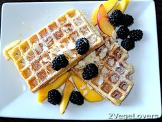2 VegeLovers: PUMPKIN WAFFLES (no yeast included)