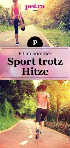 Mit unseren Tipps könnt ihr auch an heißen Sommertagen mit gutem Gewissen trainieren.