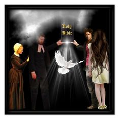 Passing the Torch of Faith - A new Christian Nation is Born by stormwarrior on Polyvore featuring art