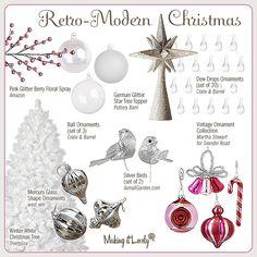 Retro-Modern Christmas