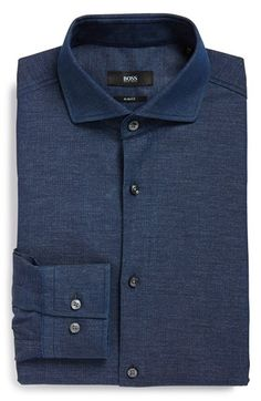 BOSS 'Jason' WW Slim Fit Dress Shirt available at #Nordstrom
