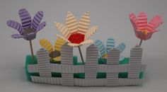 Flowers made from Kokoru Ichigo - Color corrugated.