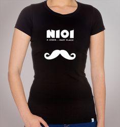 Modelo - Moustache  Também disponível em branco, verde e azul iwale.