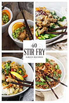 40 Stir Fry Sauce Recipes: This Ultimate Stir Fry Cheat Sheet is super handy for all your stir fries!