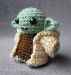 Winter DIY: The Cutest Star Wars Crochet in the Galaxy: Yoda ($4)