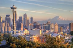 City of Seattle in Washington Where the organization aero works for's main headquarters is. Great Places, Oh The Places You'll Go, Places Ive Been, Places To Travel, Beautiful Places, Places To Visit, Amazing Places, Travel Destinations, Amazing Sunsets