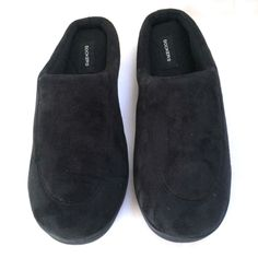Dockers Men's Sporty Microsuede Memory Foam Clog Slippers Black Size Large L New #Dockers #ClogSlippers