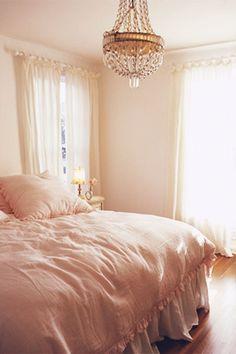 gorgeous girly bedroom