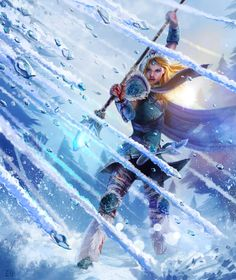 Crystal Maiden - Dota 2 by entroz on deviantART