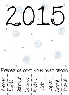 Carte de voeux 2015