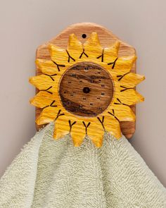 Sunflower Towel Rack ,towel Holder , Quilt Hanger, Amish Type Magic Marble Ship…