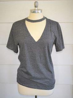 6b8805f1505 Get The Look For Less: DIY Topshop Crop Top | Diy | Pinterest | Diy crop top,  DIY and Diy shirt