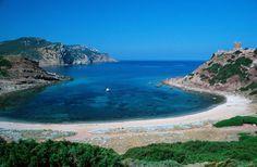 Burantin beach Alghero Sardinia island Italy