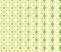 Lemon Chiffon fabric by inscribed_here on Spoonflower - custom fabric