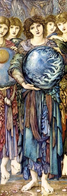Art of Narrative: Edward Burne-Jones and the Angels of Creation