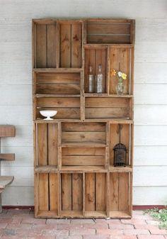 Voici les plus belles façons d'utiliser des caisses de bois en décoration ! - Images - Toutes les images en lien avec les maisons - Les Maisons - Votre site par excellence pour les trucs à la maison, les maisons à vendre, les maisons de rêve et plus encore!