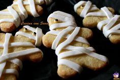 Biscotti mummia di halloween