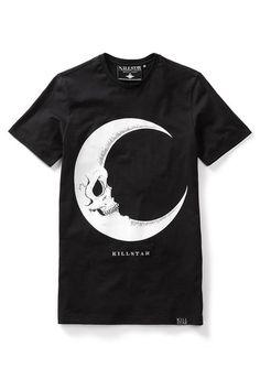Crescent moon t-shirt.