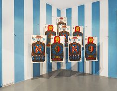 Aaron Rose, CULTS Exhibition, Installation view, Circle Culture Gallery, Berlin, 2013