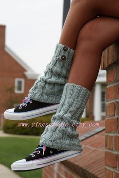 Cable Knit Leg Warmers $48.00