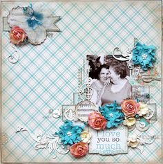 TSC Project by DT member Renia Ludwińska featuring  April's C'est Magnifique Kit full of TSC My Private Happiness collection.