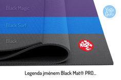 Black Mat PRO máme nově i v barevném provedení - vítáme Black Magic a Black Surf! :) www.YogaGuru.cz