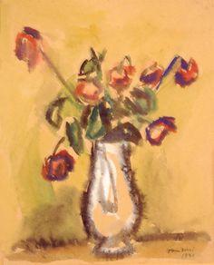Vaso di fiori, Orfeo Tamburi