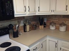 kitchen backsplash made from recycled pallets, kitchen backsplash, kitchen…