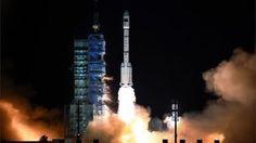 China's Shenzhou 11 blasts off on space station mission - BBC News