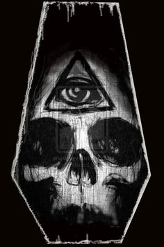 Illuminati Skull by *ShayneOtheDead on deviantART