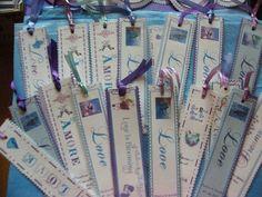 Wedding Bookmark Favours