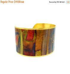 60% OFF - 50 Percent OFF SALE Jewelry - Brass Cuff Bracelet - Wearable Art Jewelry - Statement Bracelet - Artistic Jewelry - Elegant Bracele  with <3 from JDzigner www.jdzigner.com