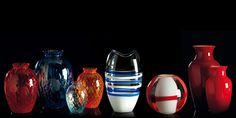 Teaser Muranoglas Vasen von Carlo Moretti - MuranoMore.com