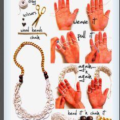 Cute necklace idea:)