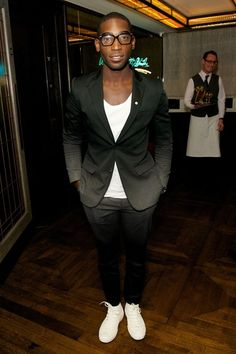 Tinie Tempah at Tommy Hilfiger and Jonathan Newhouse dinner