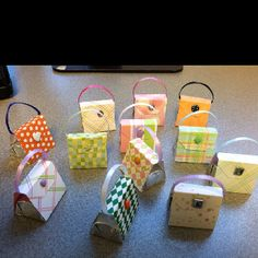 Little candy purse favors...perfect for a shower.